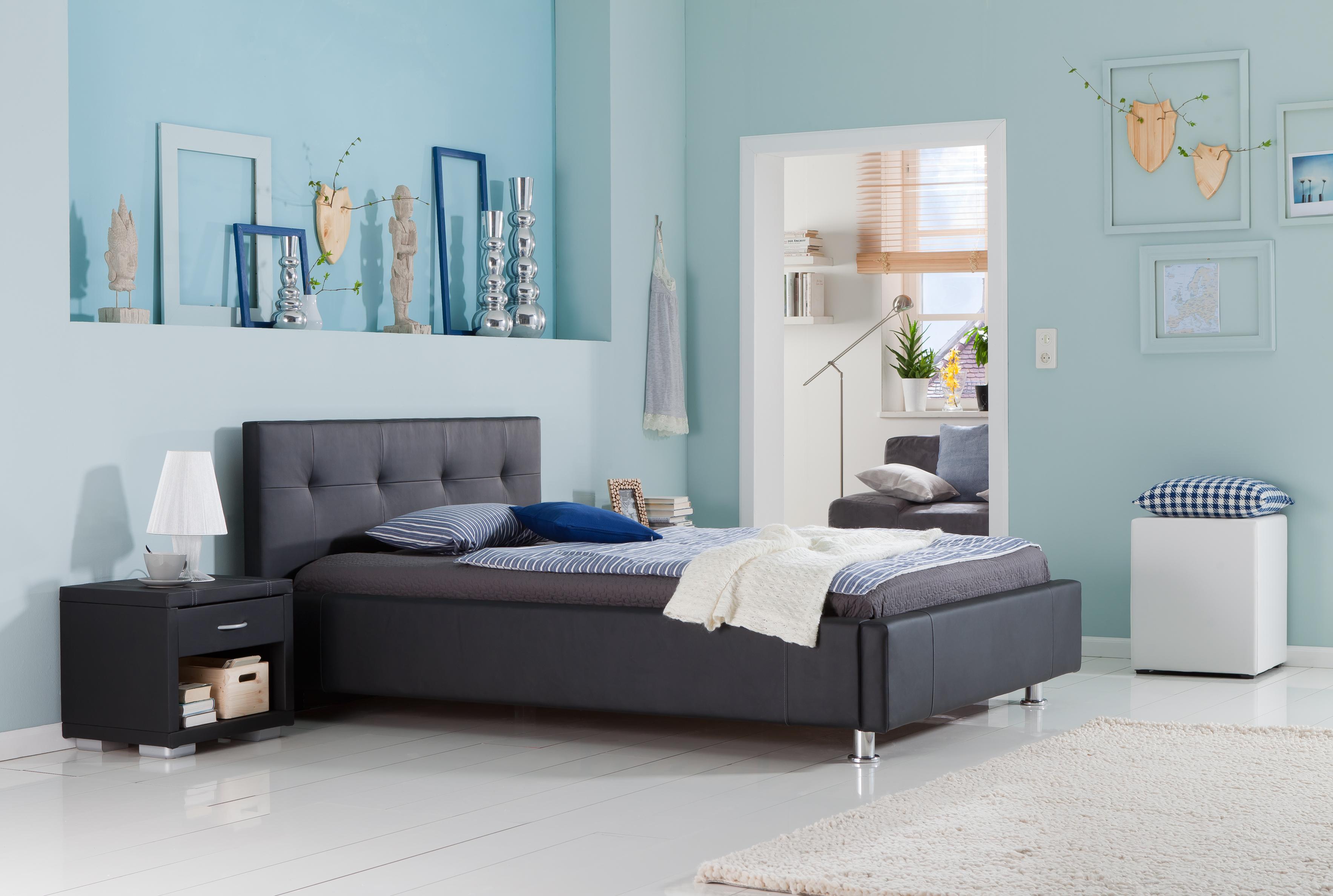 kunstlederbett mareike osterburg matratzen. Black Bedroom Furniture Sets. Home Design Ideas
