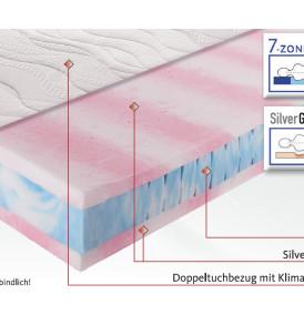 Matratze SilverGel 3000 Produkteigenschaften Osterburg Matratzen