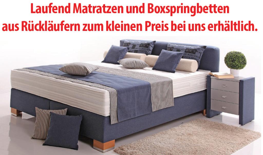 matratzen und boxspringbetten zum kleinen preis osterburg matratzen. Black Bedroom Furniture Sets. Home Design Ideas